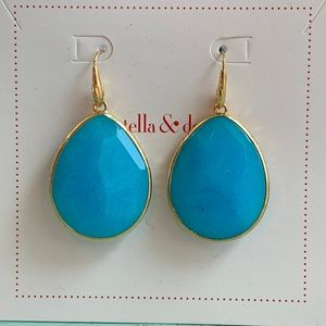 Stella & Dot Turquoise Serenity Earrings